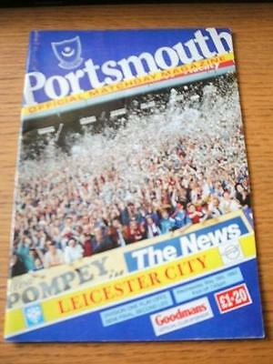 19/05/1993 Play-Off Division 1 Semi-Final: Portsmouth v Leicester City  (Small M