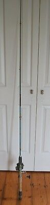Vintage  fishing rod  with Olympic reel 200