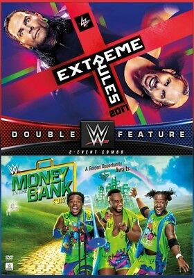 WWE: Extreme Rules / Money In The Bank 2017 (DVD,2017)
