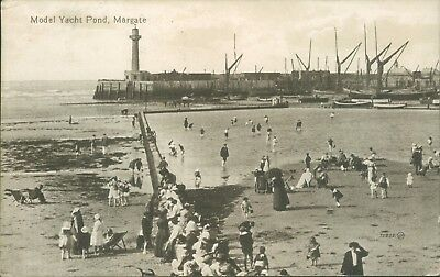 Margate model yacht pond 1921
