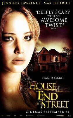 The House At The End Of The Street movie poster - Jennifer Lawrence poster