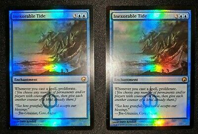 Inexorable Tide x1 Scars of Mirrodin SOM EX MTG