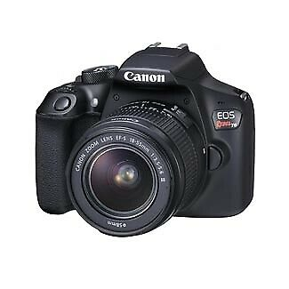 Canon EOS Rebel T6 DSLR with EF-S 18- 55mm f/3.5-5.6 IS II Lens 1159C003