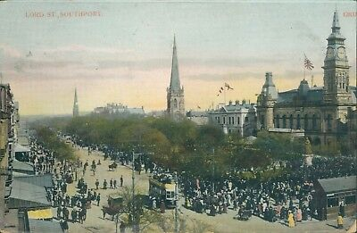 Southport; Lord street; 1909 shaw