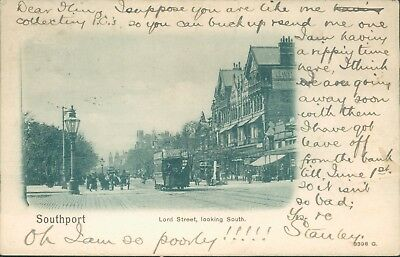 Southport; Lord street South; Peacock 1902