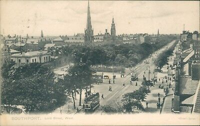 Southport; Lord street; 1908 west