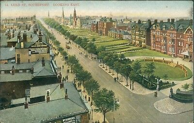Southport; Lord street; looking east 1909