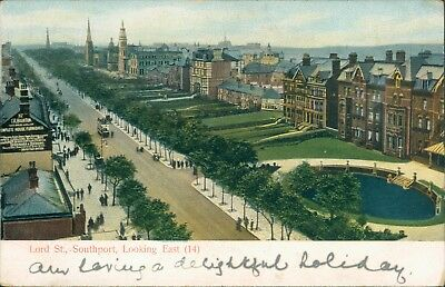 Southport; Lord street; looking east 1903