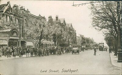 Southport; Lord street PPC 4352 1927