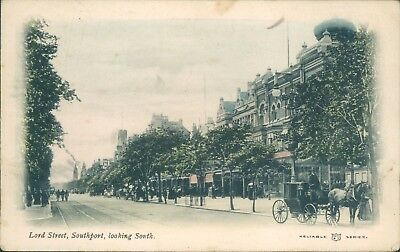 Southport; Lord street; 1906; reliable series