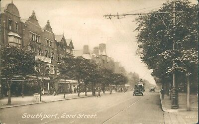 Southport; Lord street frith 1921