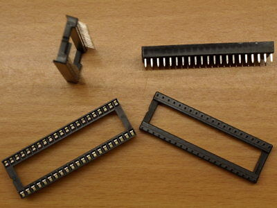"Low Profile 42 Pin IC Socket DIL 0.6"" wide Way DIP for 16bit EPROMs"