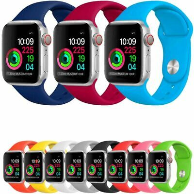 Correa Reloj Apple Watch Series 1 2 3 4 pulsera silicona iWatch 38-40 42-44mm