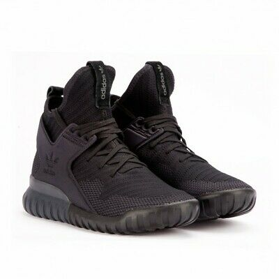 huge discount 73dc9 835b4 Adidas Mens Tubular X Primeknit Sneakers S80132 Blk dark Grey blk 9