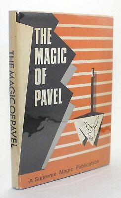 The Magic of Pavel Vintage Photo Trick Supreme Magician Book Bottles Cards Rope