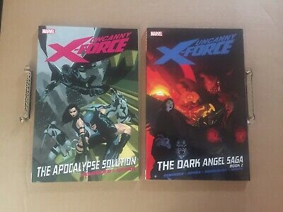 Uncanny X-Force TPB Softcover Lot By Rick Remender & Opena Graphic Novel Marvel