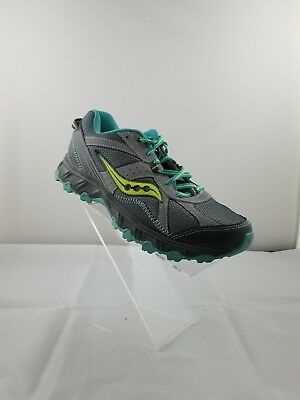 268fd918ceb2 women s saucony Escape TR athletic running walking shoes size 8.5 gray and  turqu