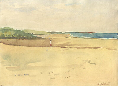 William Norman Gaunt (1918-2001) - Signed Watercolour, Middleton Sands