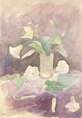 Mid 20th Century Watercolour - Floral Still Life