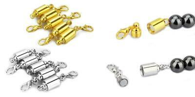 LolliBeads (TM) Strong Magnetic Clasps Clever Clasp Built-In Safety Lock...