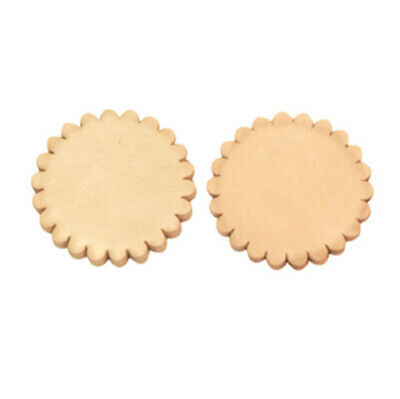 """NEW Leather Rosette - 1 1/2"""" - Set of 2"""