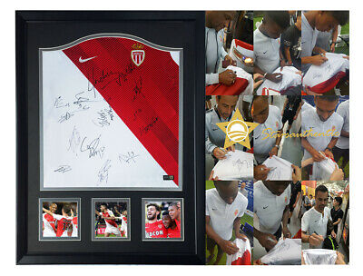7bb47255f AS Monaco FC Falcao squad hand signed autograph jersey with starsauthentic  coa