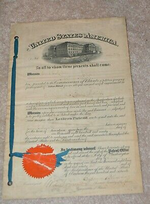 Original 1891 UNDERGROUND RAILWAY CONDUIT PATENT FAMOUS INVENTOR CHICAGO train