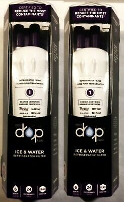 WHIRLPOOL EVERY DROP -2 PACK -ICE AND WATER FILTER - Model EDR1RXD1 NIB