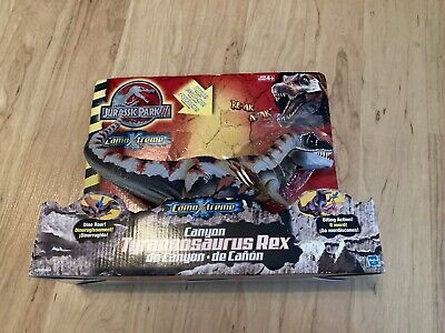 Jurassic Park CamoXtreme Electronic Canyon T-Rex Dinosaur EXTREMELY RARE! Read!!