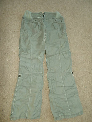 Next girl's kharky trousers / shorts - Age 11