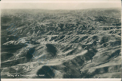 Natal valley of a thousand hills Real photo newman art publishing co