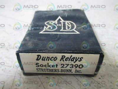 Struthers-Dunn 27390 Relay Socket * New In Box *