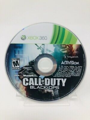 Call of Duty: Black Ops (Microsoft Xbox 360, 2010) Disc Only - Tested