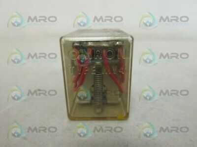 Omron My4 Relay 110/120Vac *Used*