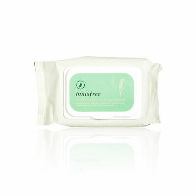 [INNISFREE] Green Barley Multi Cleansing Tissue - 50Sheets