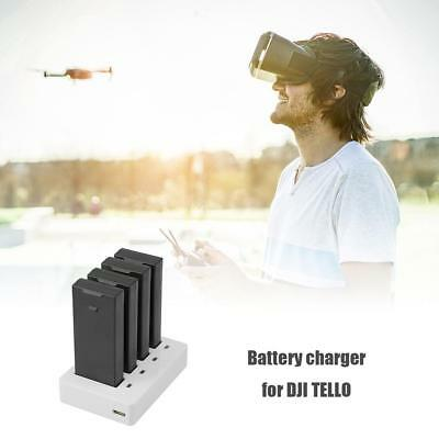 4 in 1 USB Multi Battery Quick Charging Charger Hub for DJI TELLO RC Drone DC5V