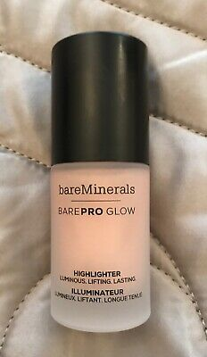 BARE MINERALS BARE PRO GLO HIGHLIGHTER~14ml~IN FREE BN 💋
