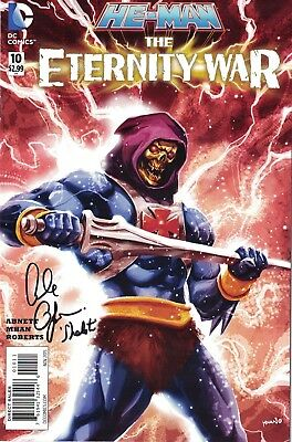 Alan Oppenheimer Signed Skeletor COMIC Masters Of The Universe Autograph