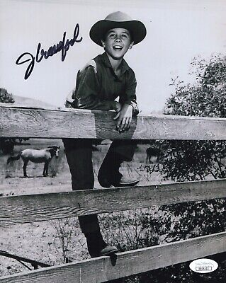 JOHNNY CRAWFORD Signed THE RIFLEMAN 8x10 Photo In Person Autograph JSA COA