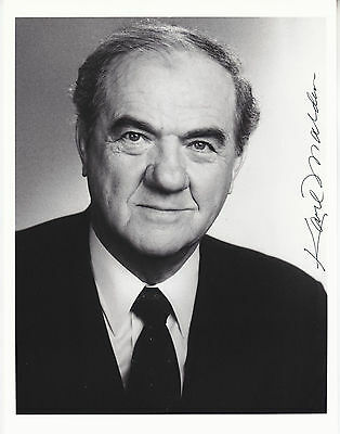 KARL MALDEN (1912-2009) hand signed 8x10 photo photograph autographed |