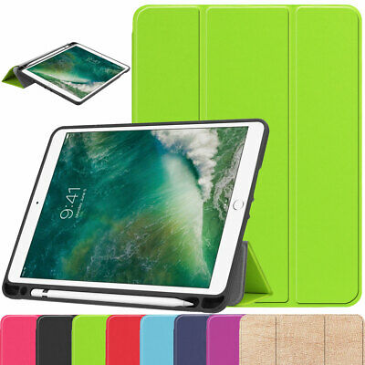 For Apple iPad Air 3rd Gen 10.5 Inch Tablet Smart Leather Case with Penci Holder