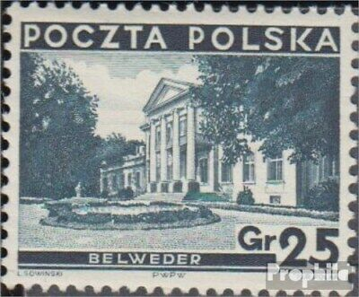 Poland 305 with hinge 1935 attractions