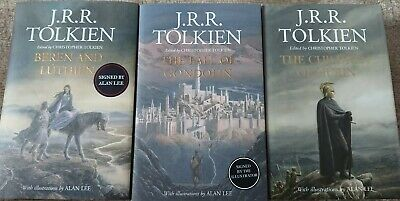 The Children of Hurin, Beren and Luthien, Fall of Gondolin, Signed by Alan lee