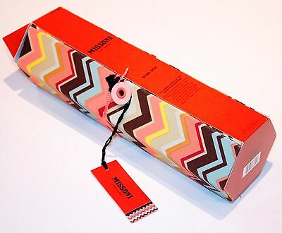 Missoni For Target Wine Box Carrier Zig Zag Chevron Brown Limited