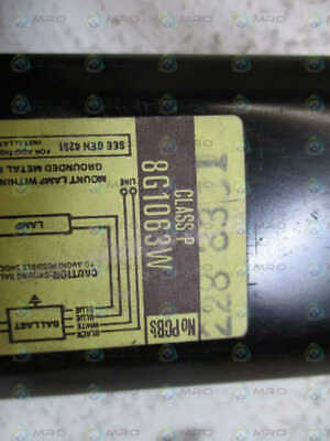 General Electric 8G1063W Electric Rapid Start Ballast *Used*