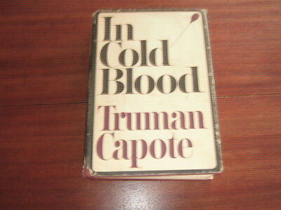 In Cold Blood by Truman Capote 1st BCE 1965