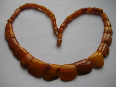 Bernsteinkette Collier Baltic Amber Necklace Butterscotch