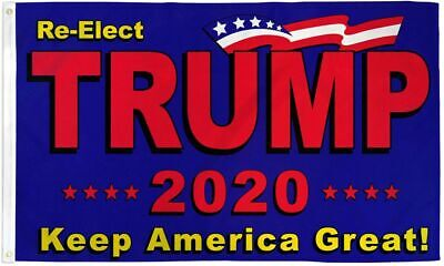 3x5 Re-Elect Donald Trump 2020 Keep America Great Flag 3'x5' Banner Grommets USA