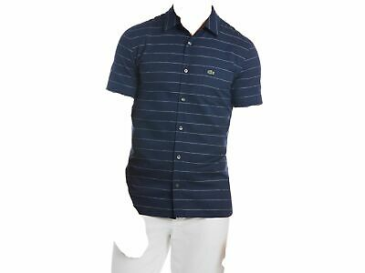 8a7d2aa7 $547 LACOSTE SPORT Men's SLIM FIT BLUE SHORT SLEEVE POLO CROC LOGO ...