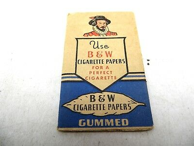 Vintage B & W Cigarette Papers Brown & Williamson Tobacco Company